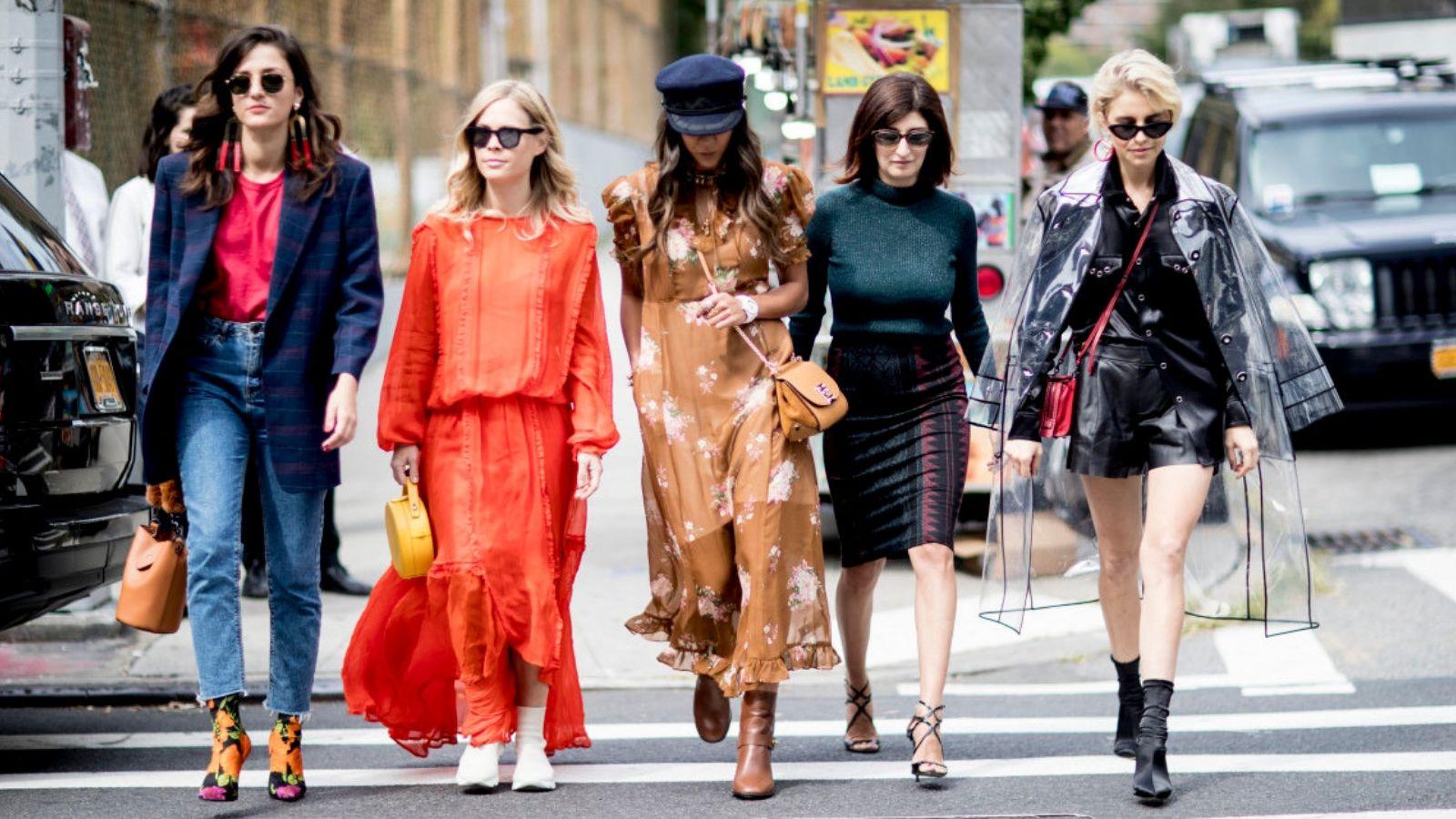 fashionista đi trên phố - phong cách thời trang anh và mỹ