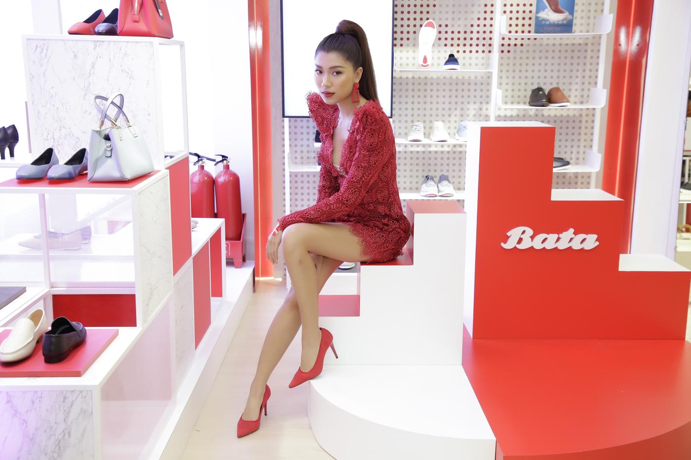 bata vietnam khai trương cửa hàng mới concept red 2