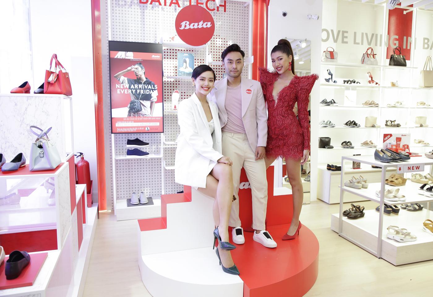 bata vietnam khai trương cửa hàng mới concept red