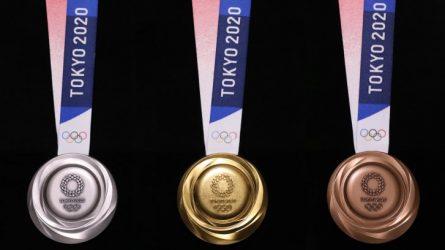 Công bố mẫu huy chương Olympic Tokyo 2020 được làm từ… thiết bị điện tử cũ
