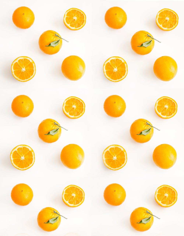 các quả cam