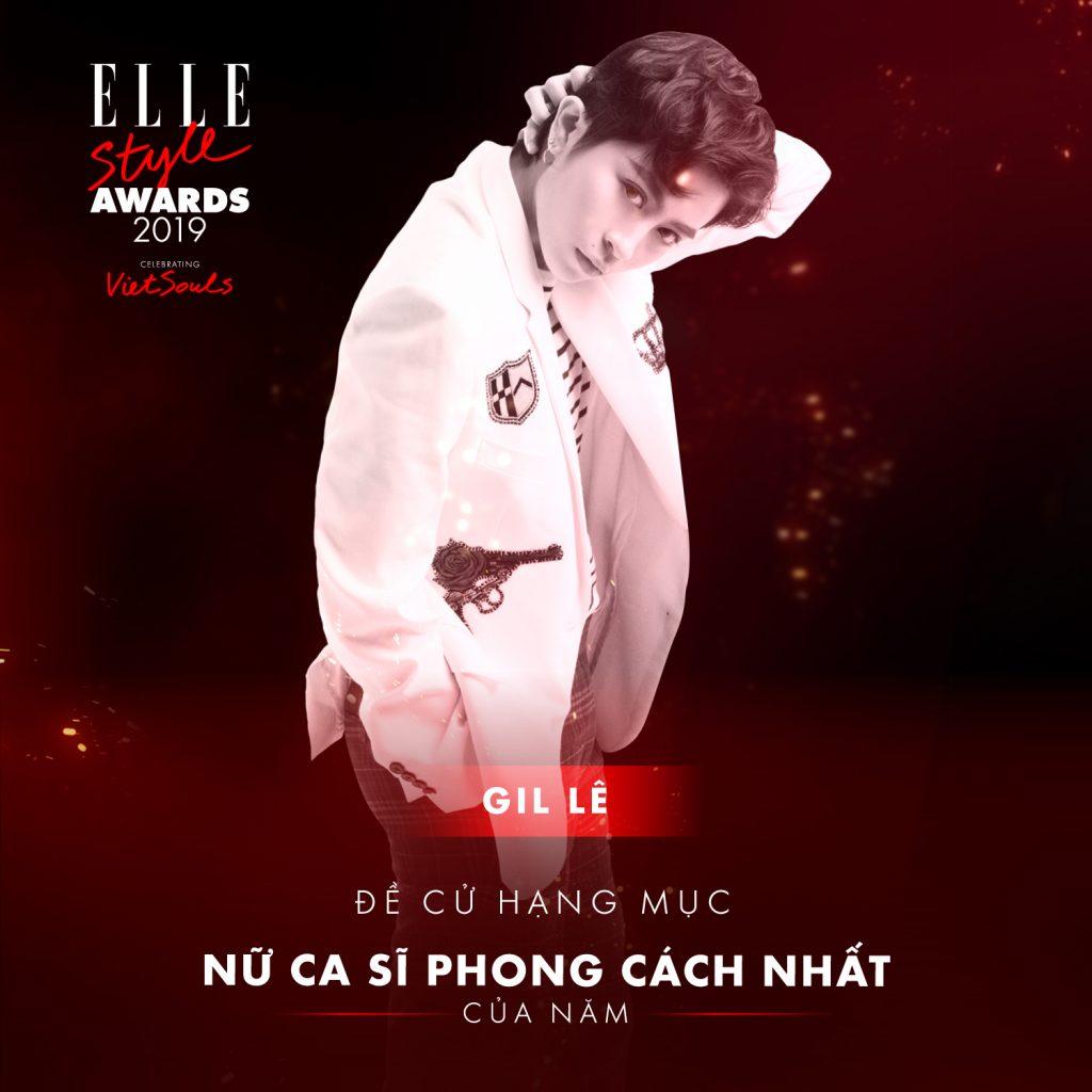 ELLE Style Awards 2019 Gil Lê