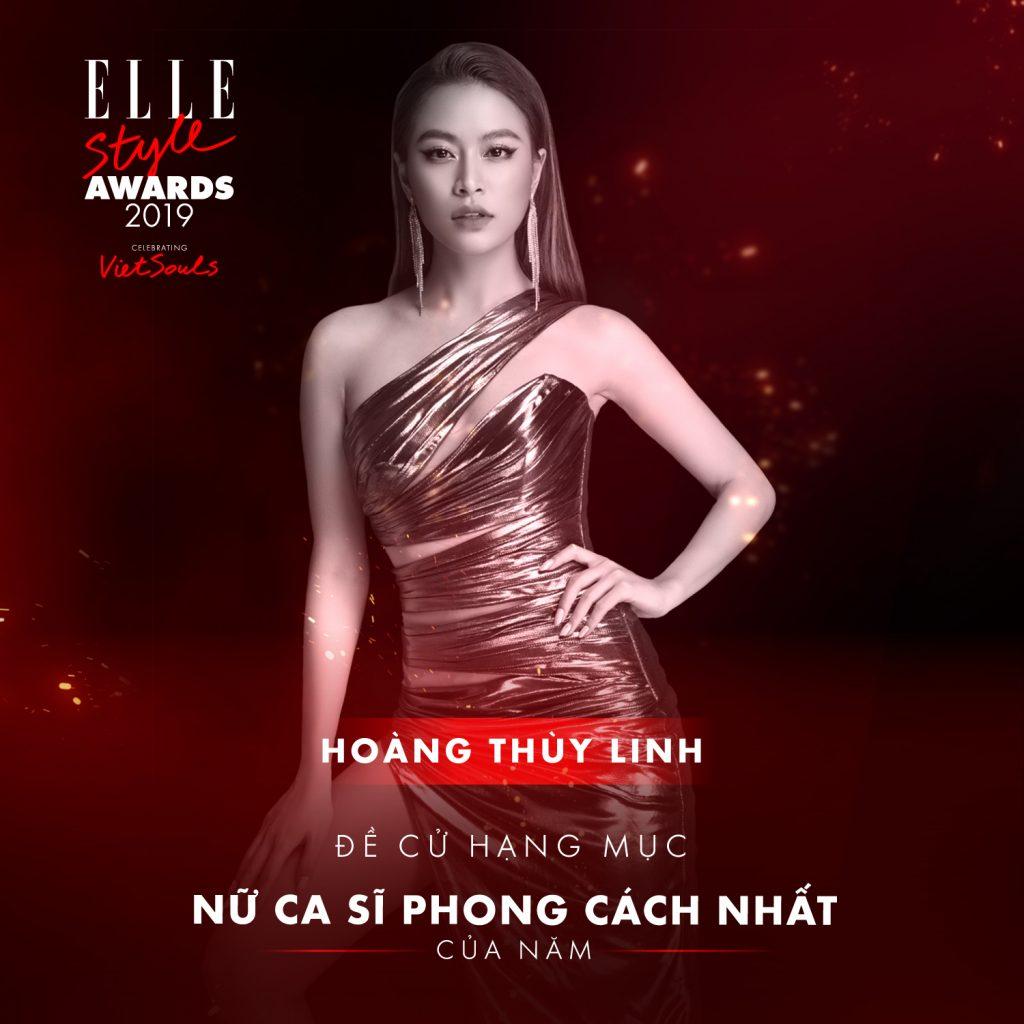 ELLE Style Awards 2019 Hoàng Thùy Linh