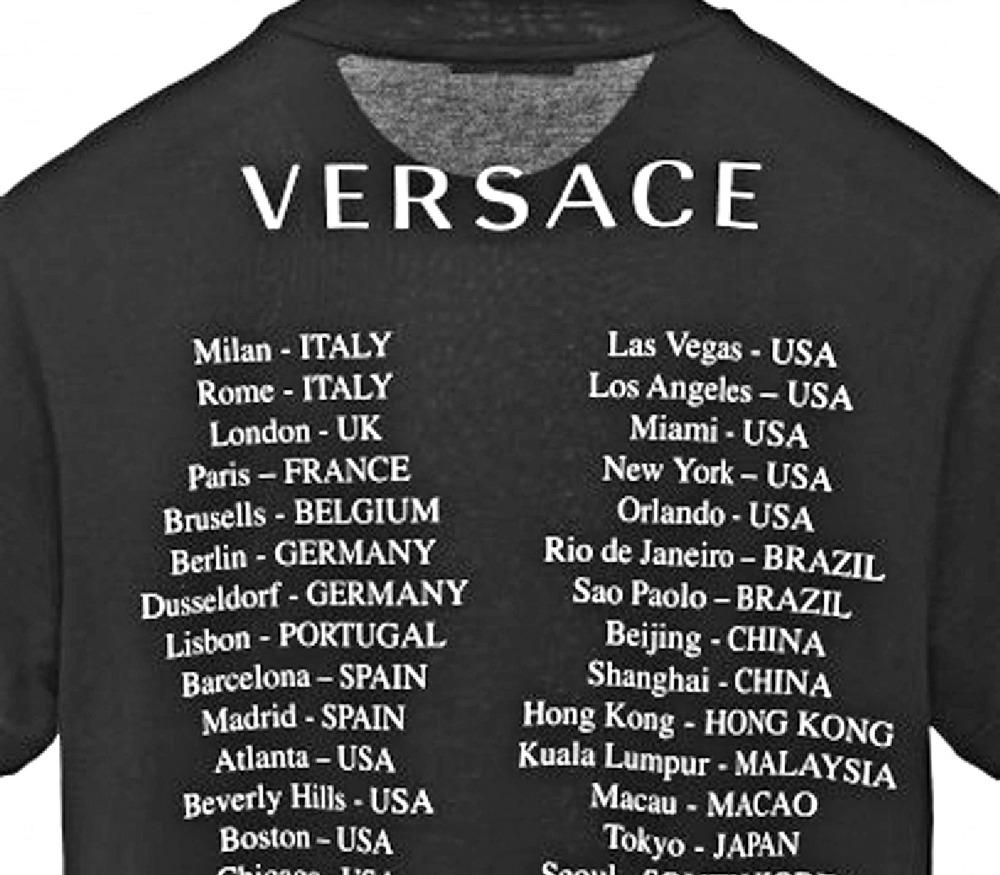 áo thun versace