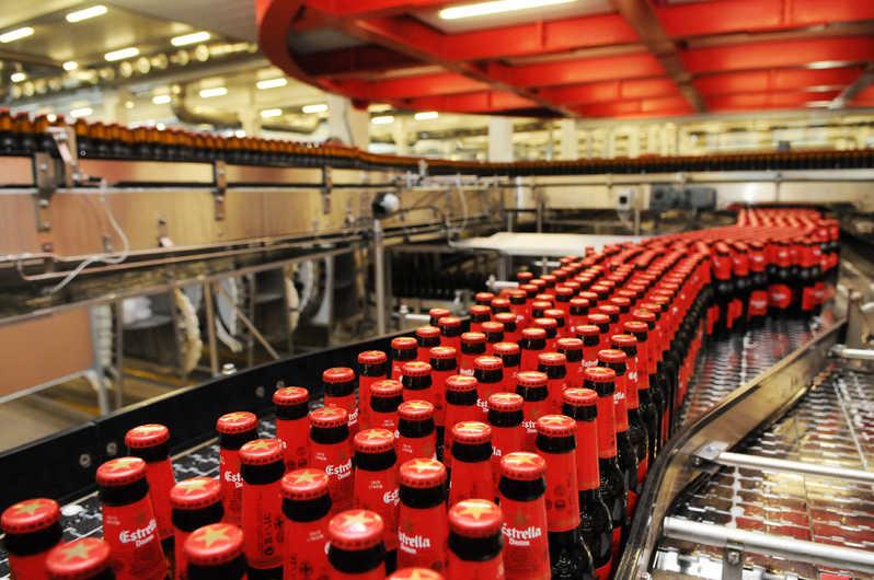 dây chuyền sản xuất bia estrella