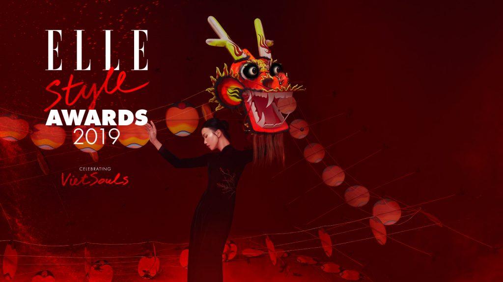 Bìa giải thưởng ELLE Style Awards 2019 chủ đề Viet Souls