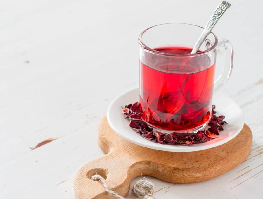 trà hoa bụp giấm 01