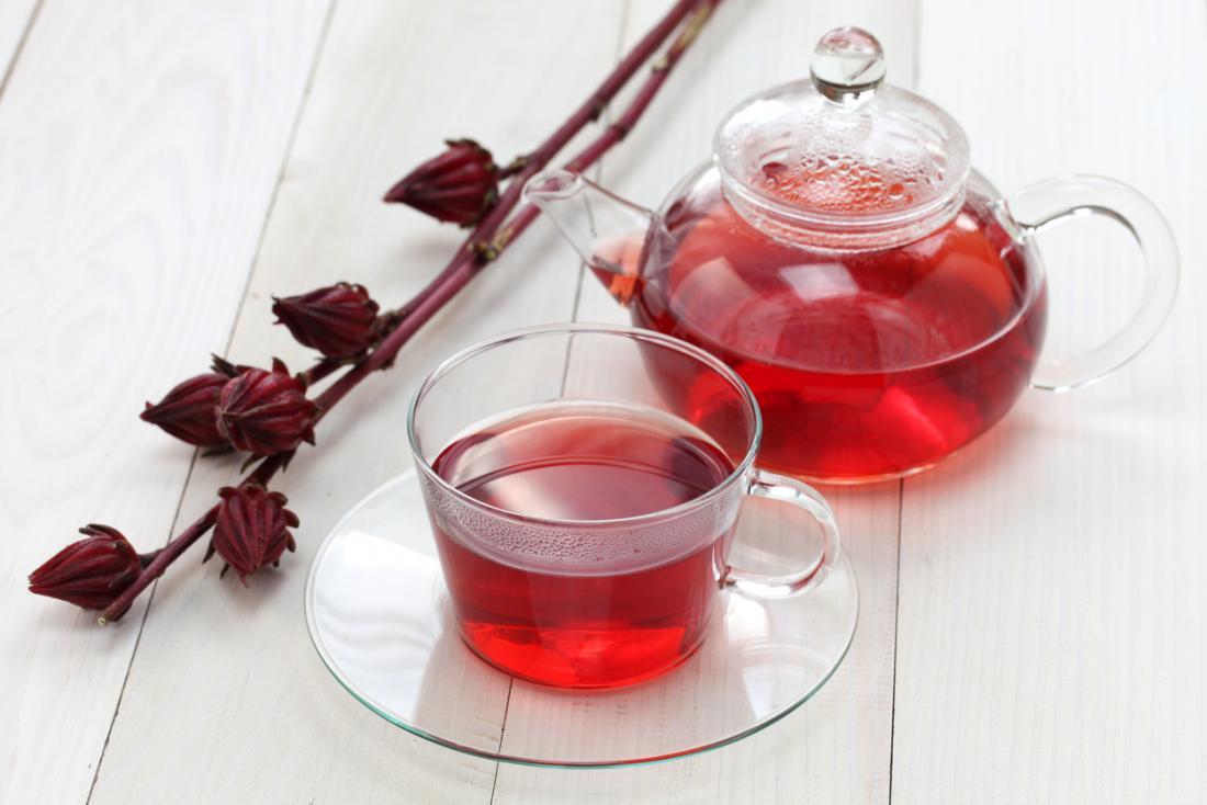 trà hoa bụp giấm