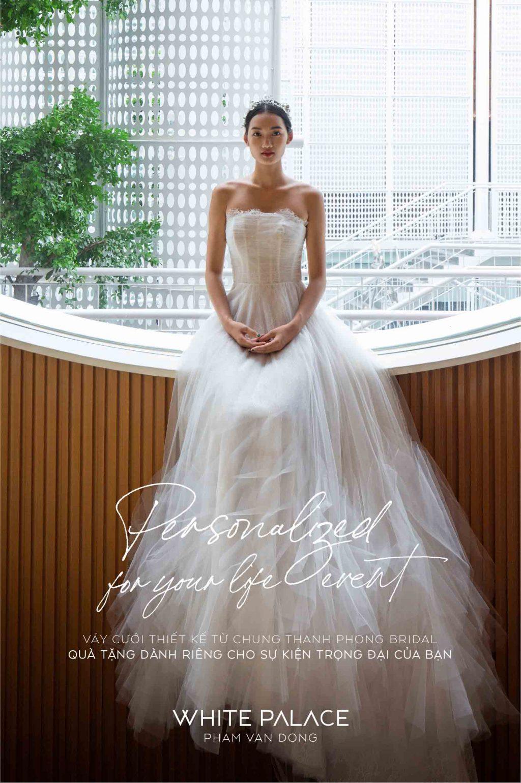 váy cưới chung thanh phong