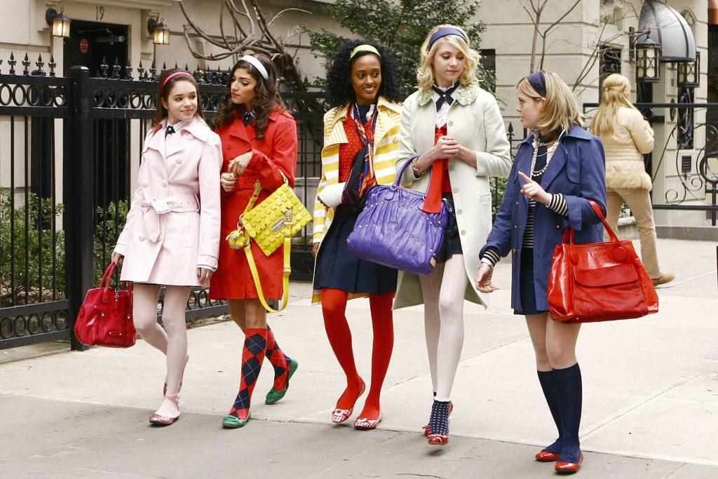 Phong cách Preppy trong bộ phim truyền hình ăn khách Gossip Girl (2007-2012)