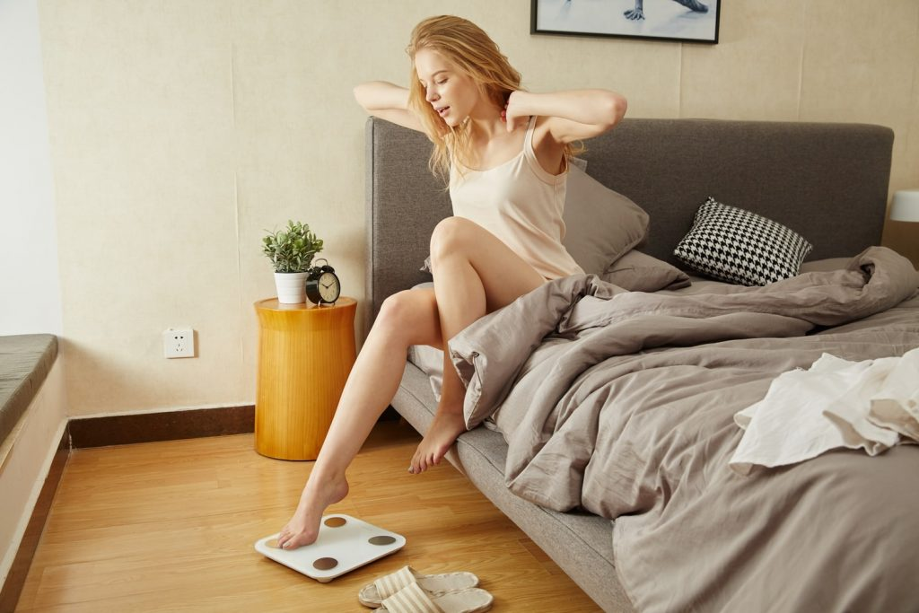 phụ nữ giảm cân - nguyên nhân chậm kinh