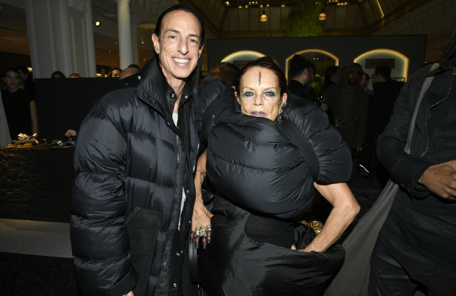 Rick Owens và Michèle Lamy