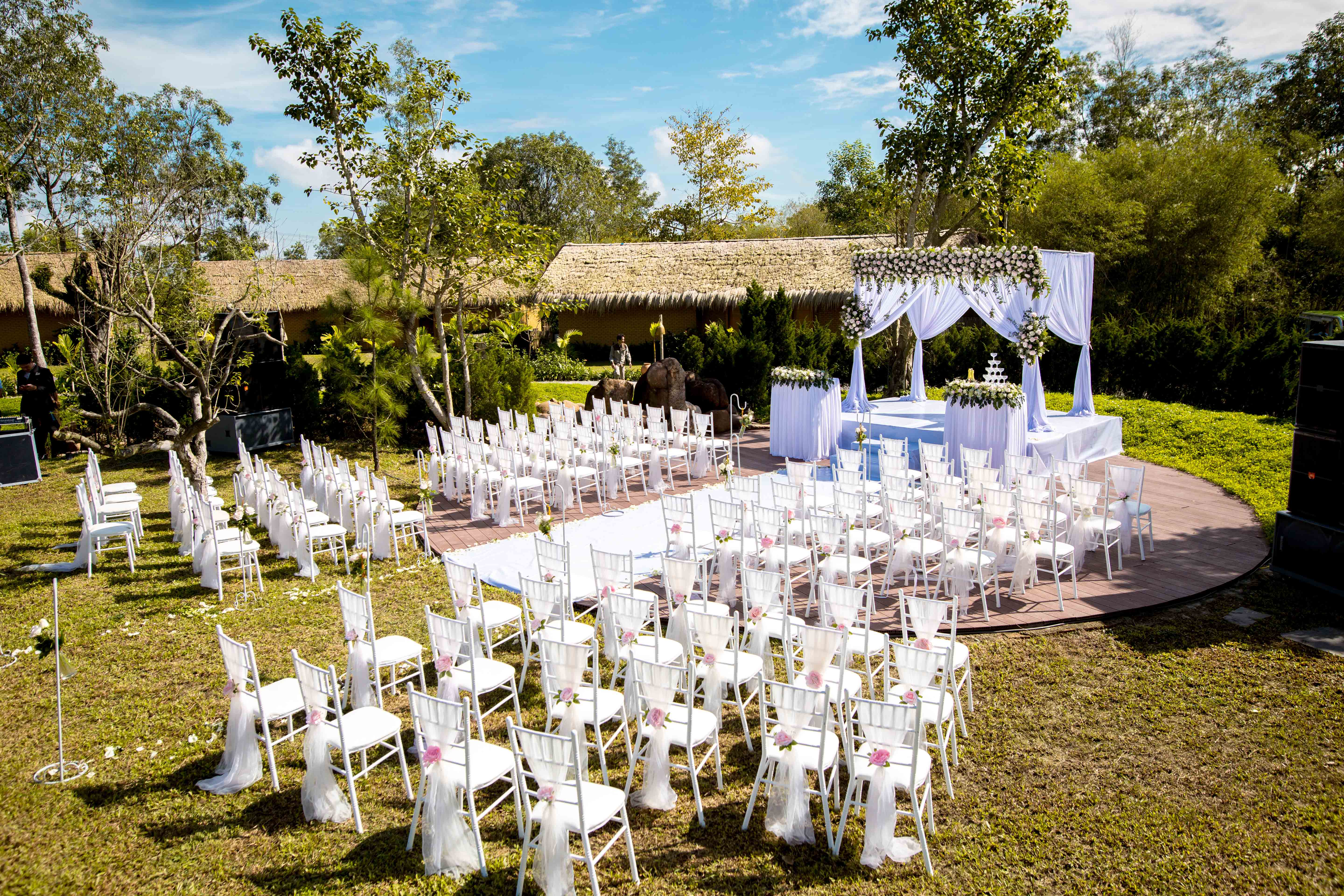 Wedding setting Alba Wellness Valley by Fusion