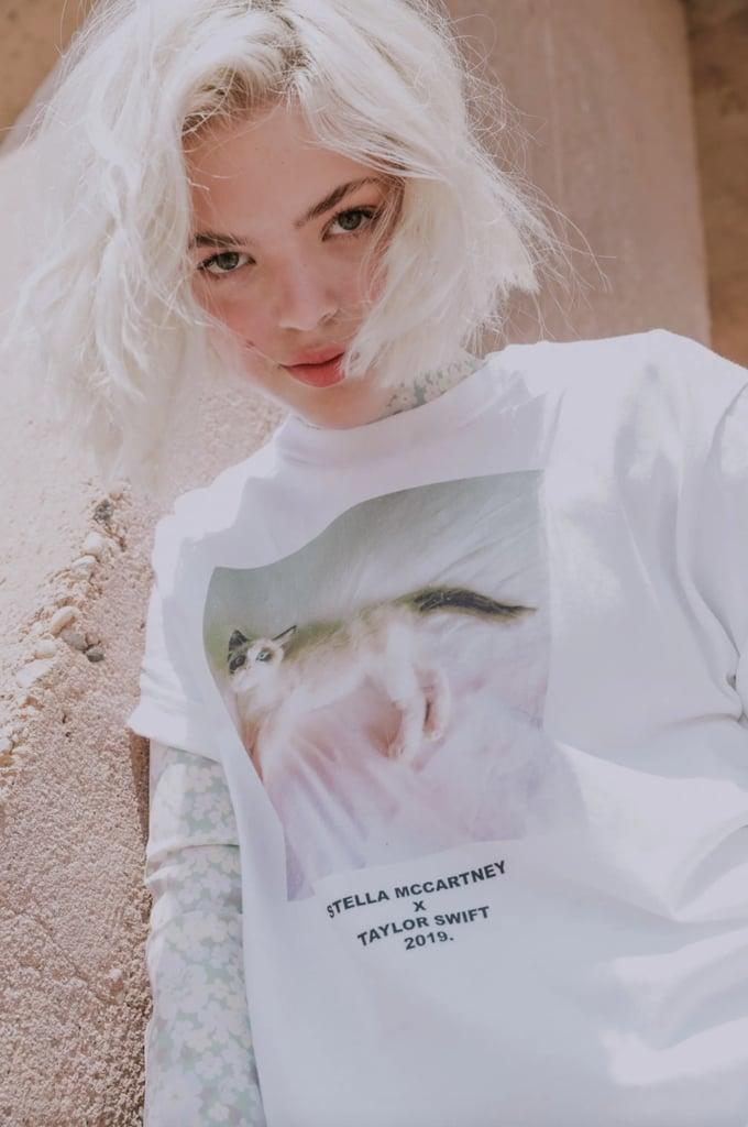 Áo thun trắng kitty BST StellaxTaylor