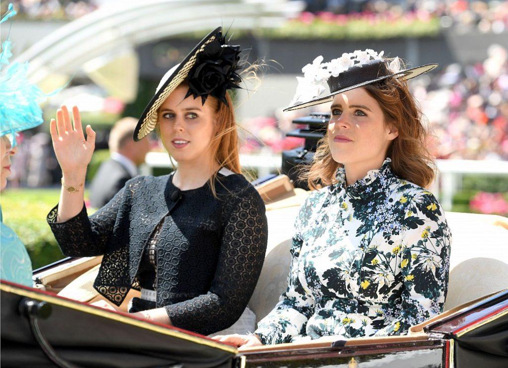 Công chúa Eugenie và Beatrice