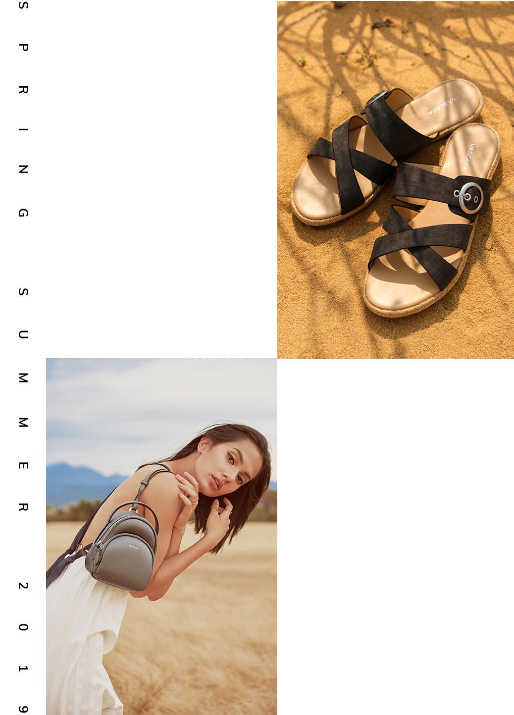 giày và túi vascara bộ sưu tập xuân hè 2019