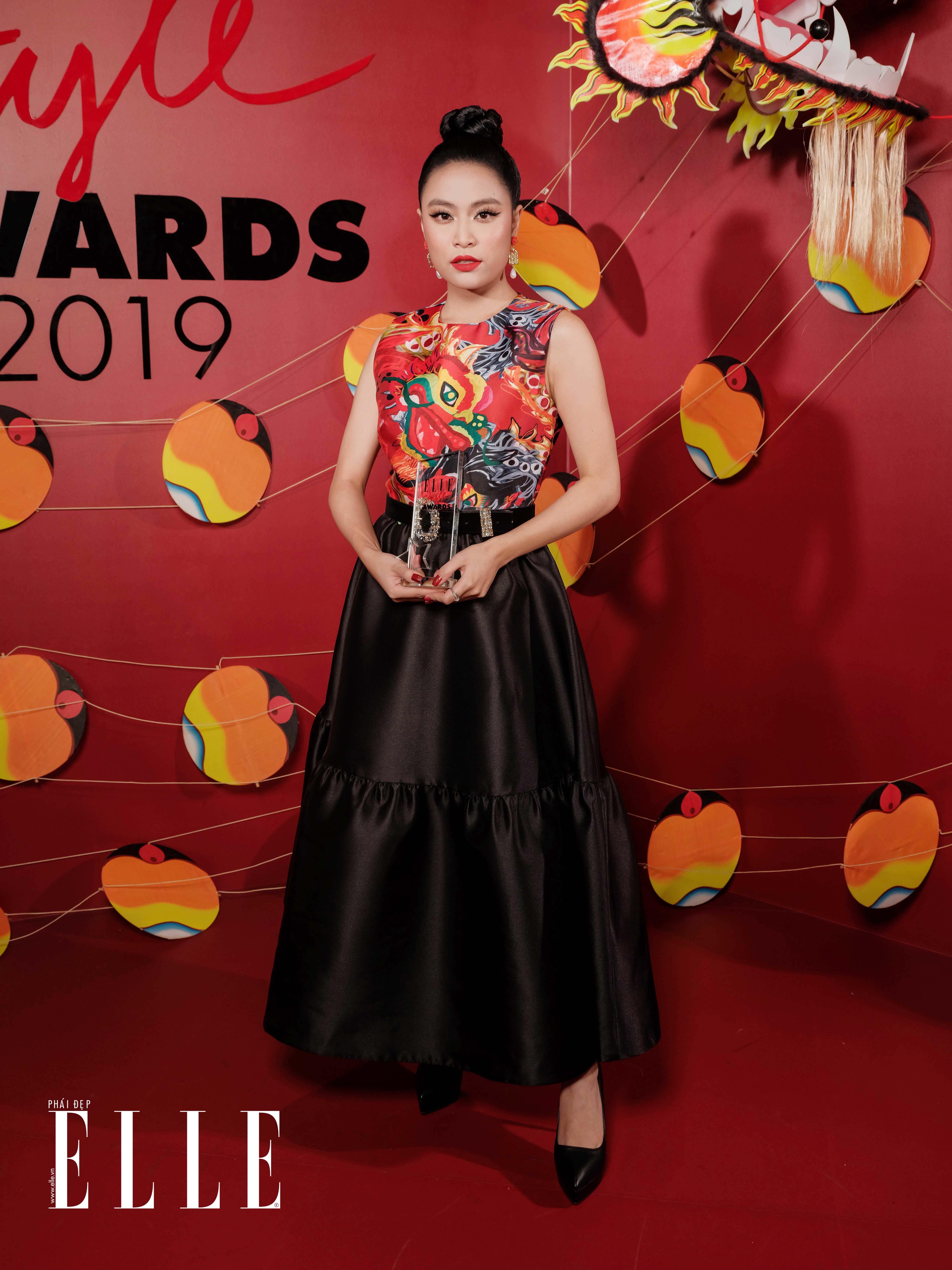 Nữ ca sĩ Hoàng Thuỳ Linh