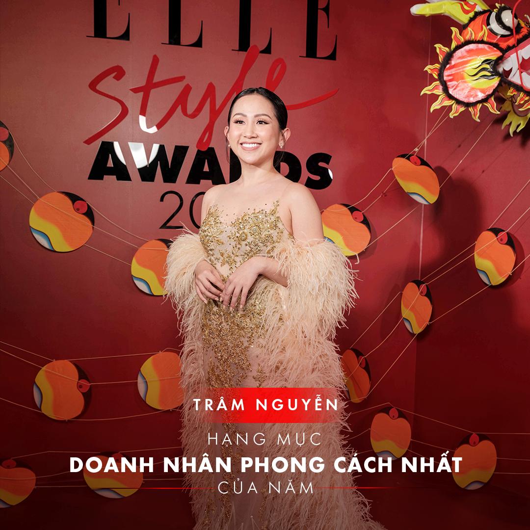 elle style awards 2019 trâm nguyễn