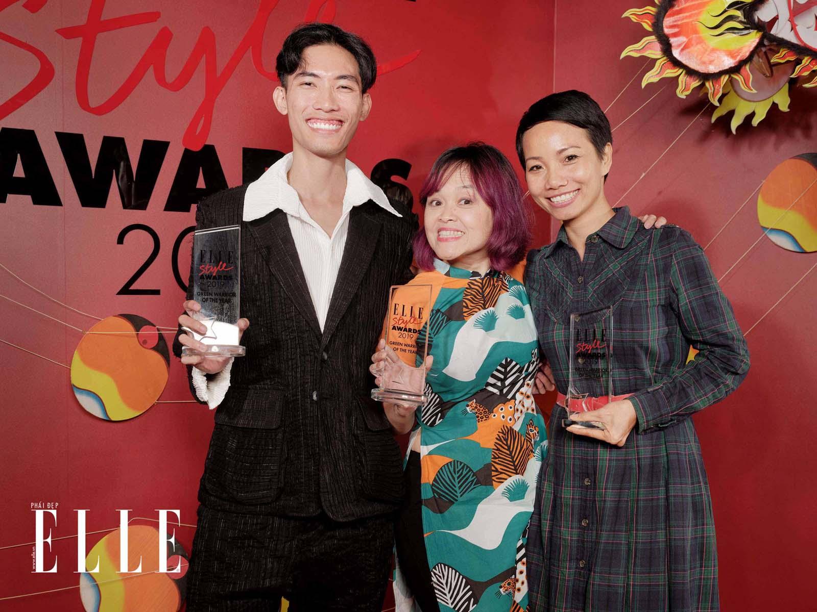 elle style awards 2019 chiến binh xanh