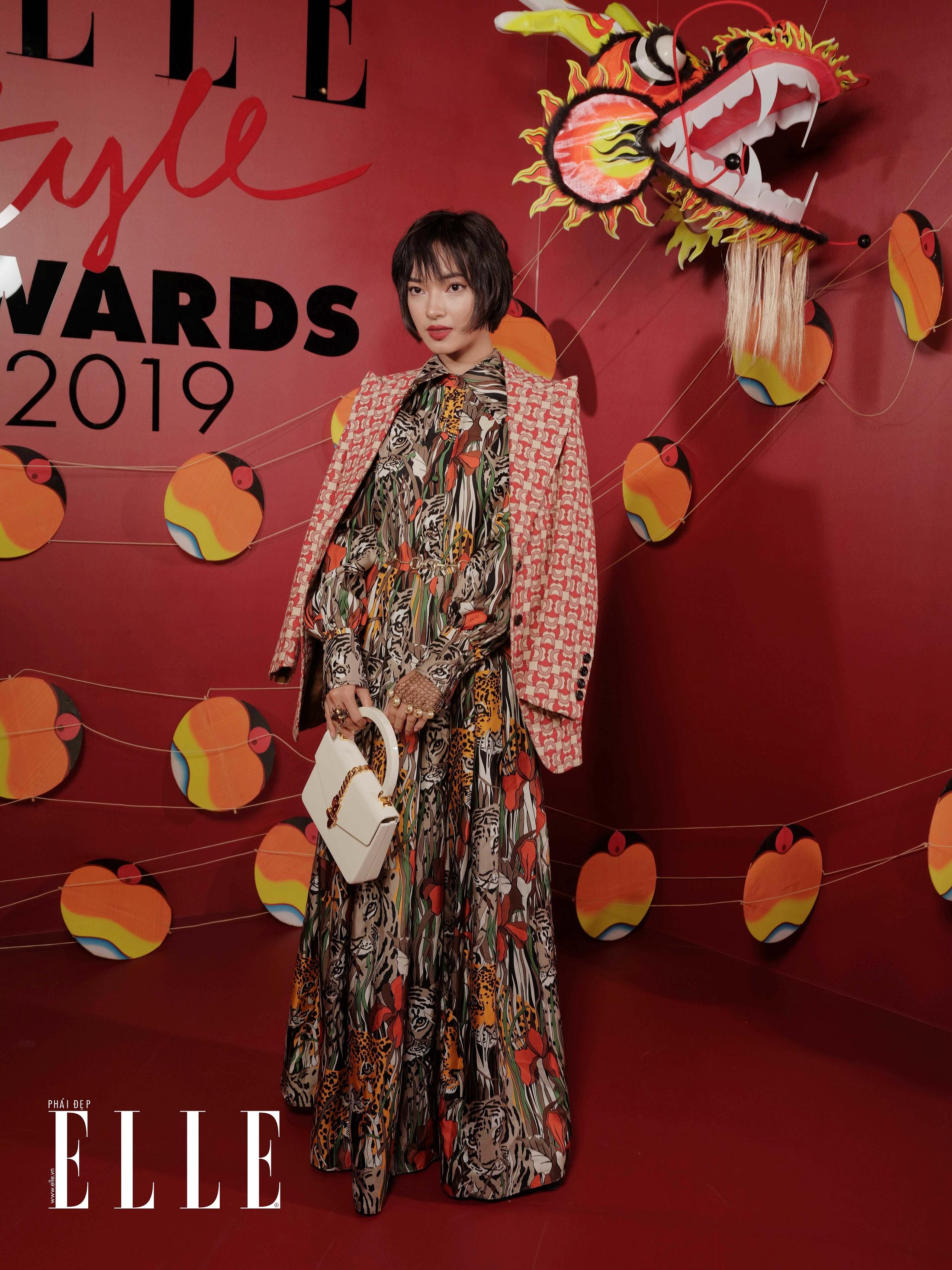 elle style awards 2019 châu bùi