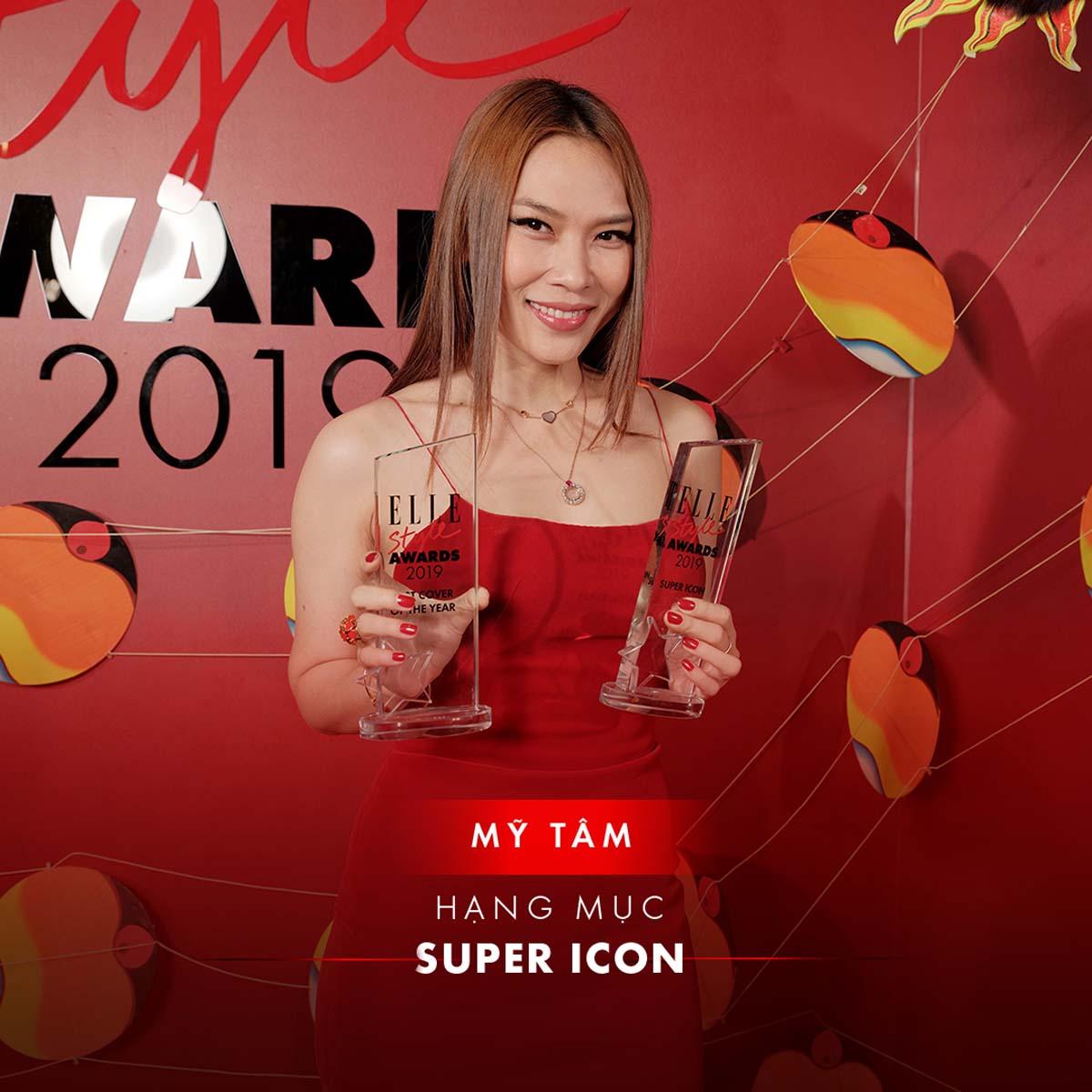elle style awards 2019 - mỹ tâm