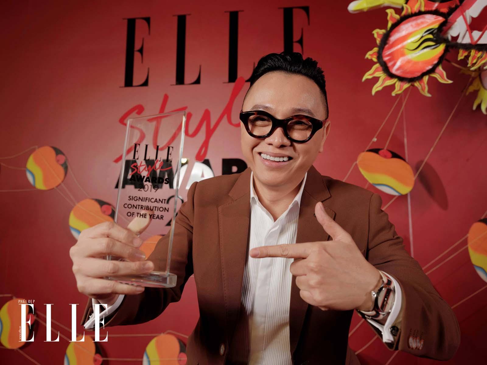 elle style awards 2019 - ntk công trí