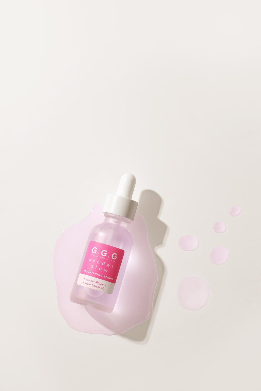 Wonder Glow Brightening Serum từ G.G.G - chai serum đặc trị mang đến làn da Glass skin cho phái nữ.
