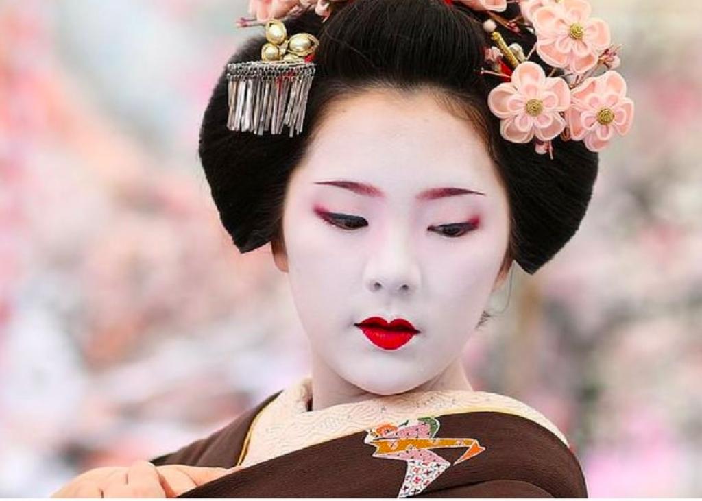 bí quyết làm đẹp geisha