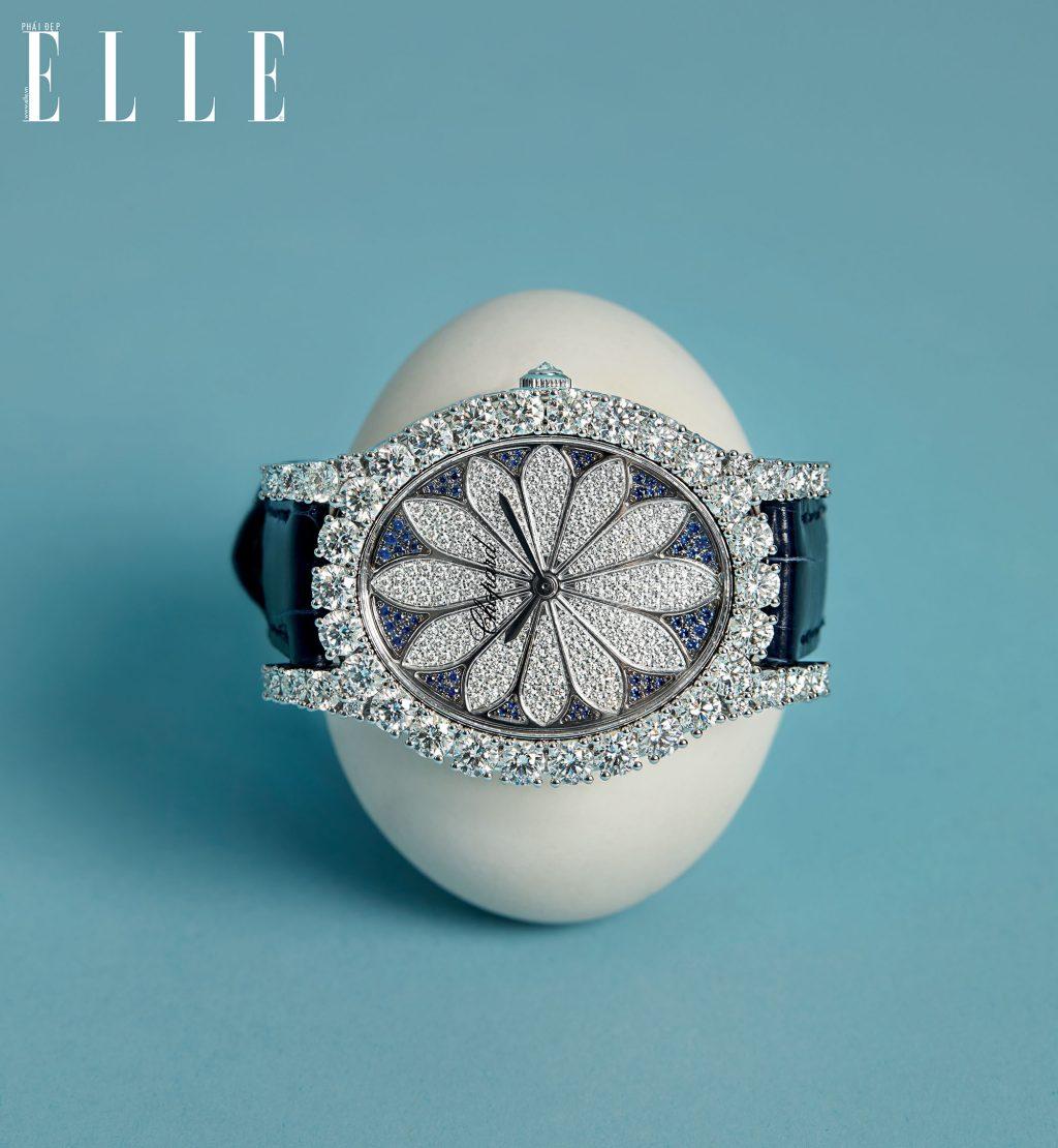 đồng hồ kim cương chopard