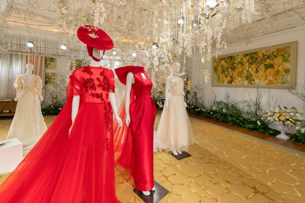 Không gian trưng bày bộ sưu tập Espoir của Phương My tại khách sạn Park Hyatt