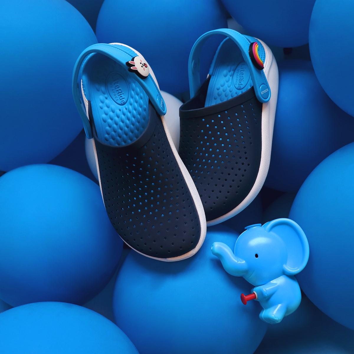 Crocs Literide xanh dương đậm