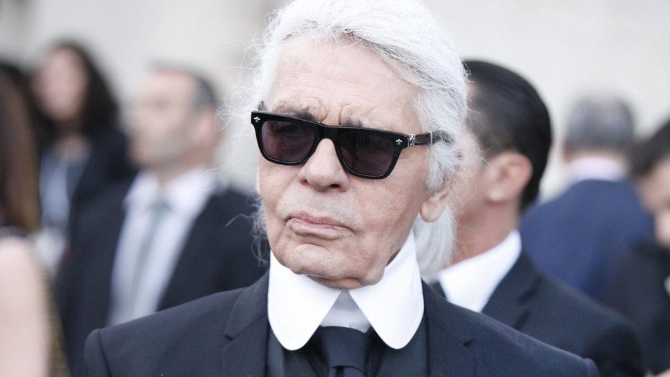 nhà thiết kế đại tài Karl Lagerfeld