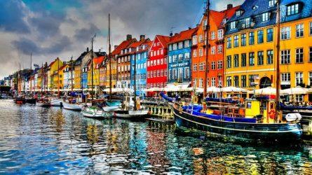 Dạo bước qua những con phố châu Âu rực rỡ sắc màu