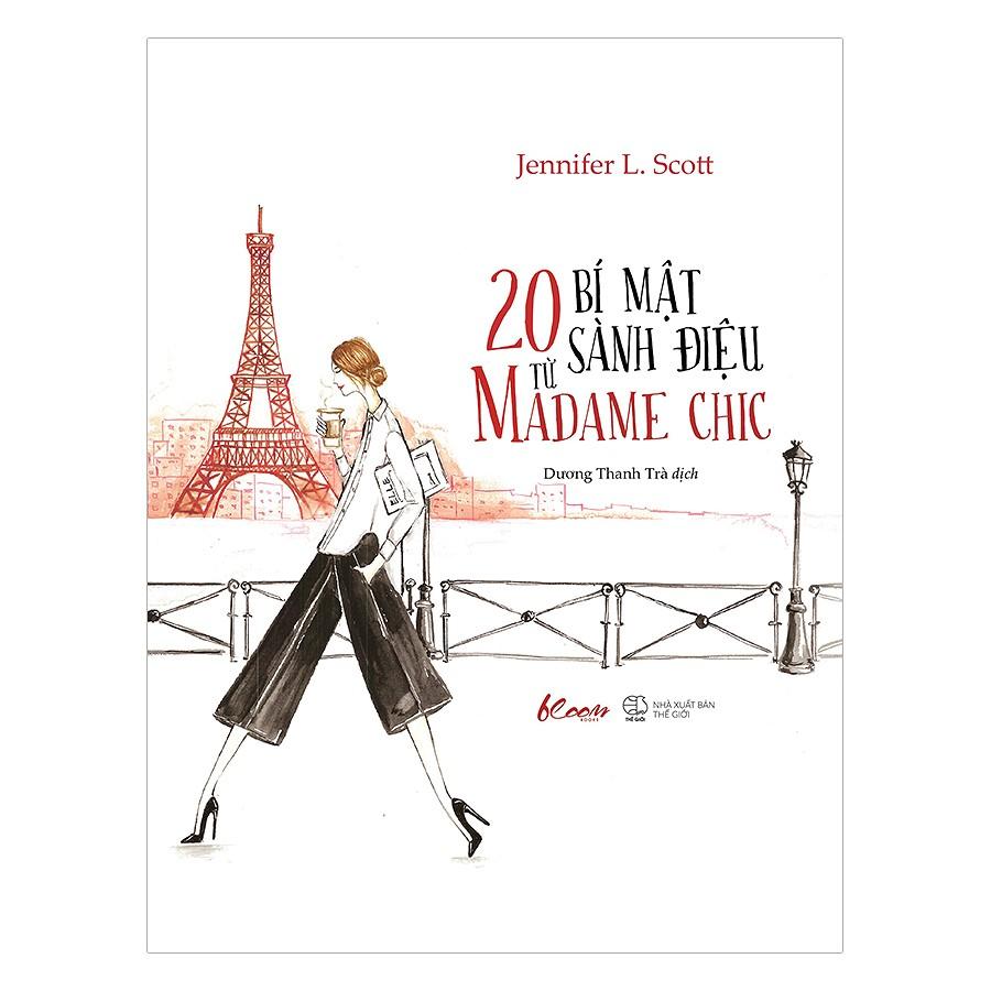 sách xây dựng phong cách cá nhân - 20 bí mật sành điệu madame chic