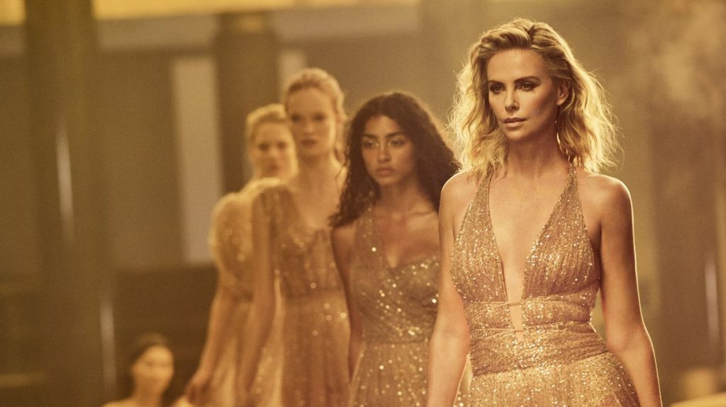 Dior J'adore - người mẫu biểu diễn