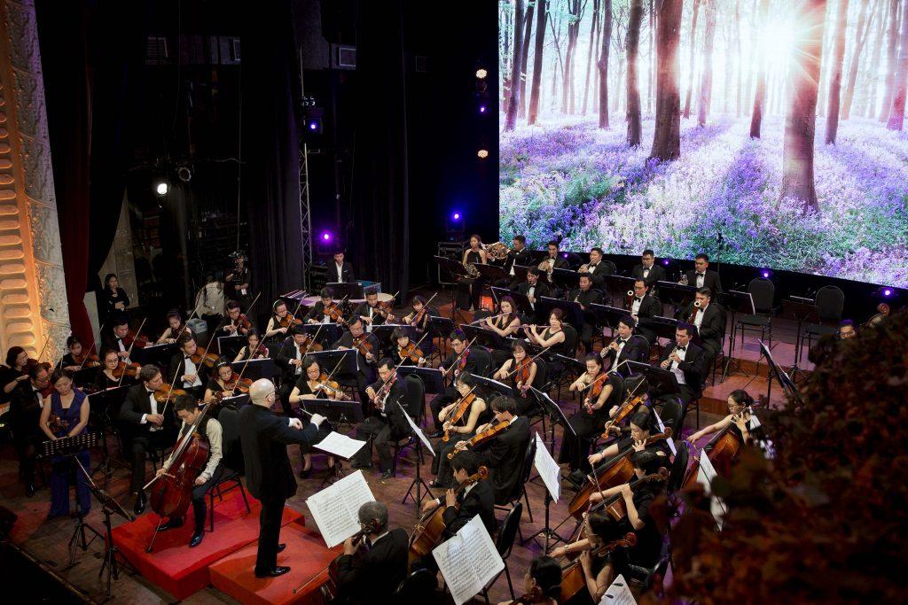 hòa nhạc sống xanh