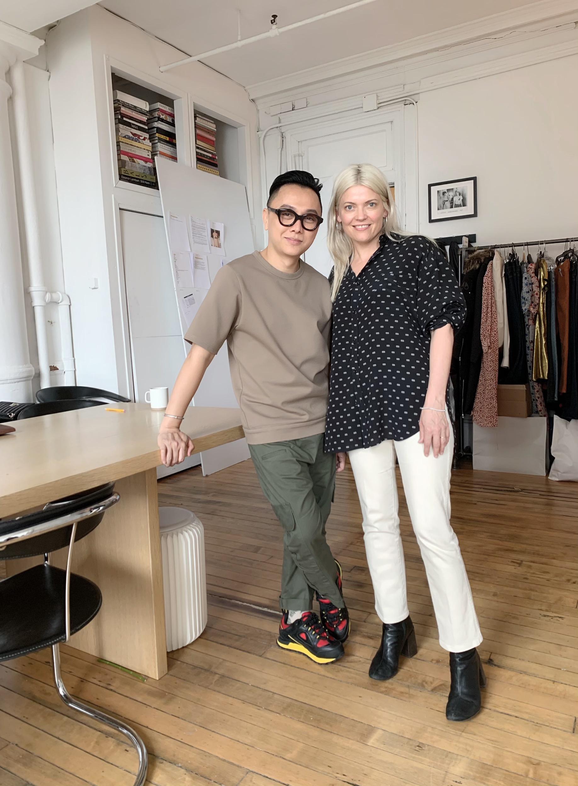 ntk công trí và stylist kate yong