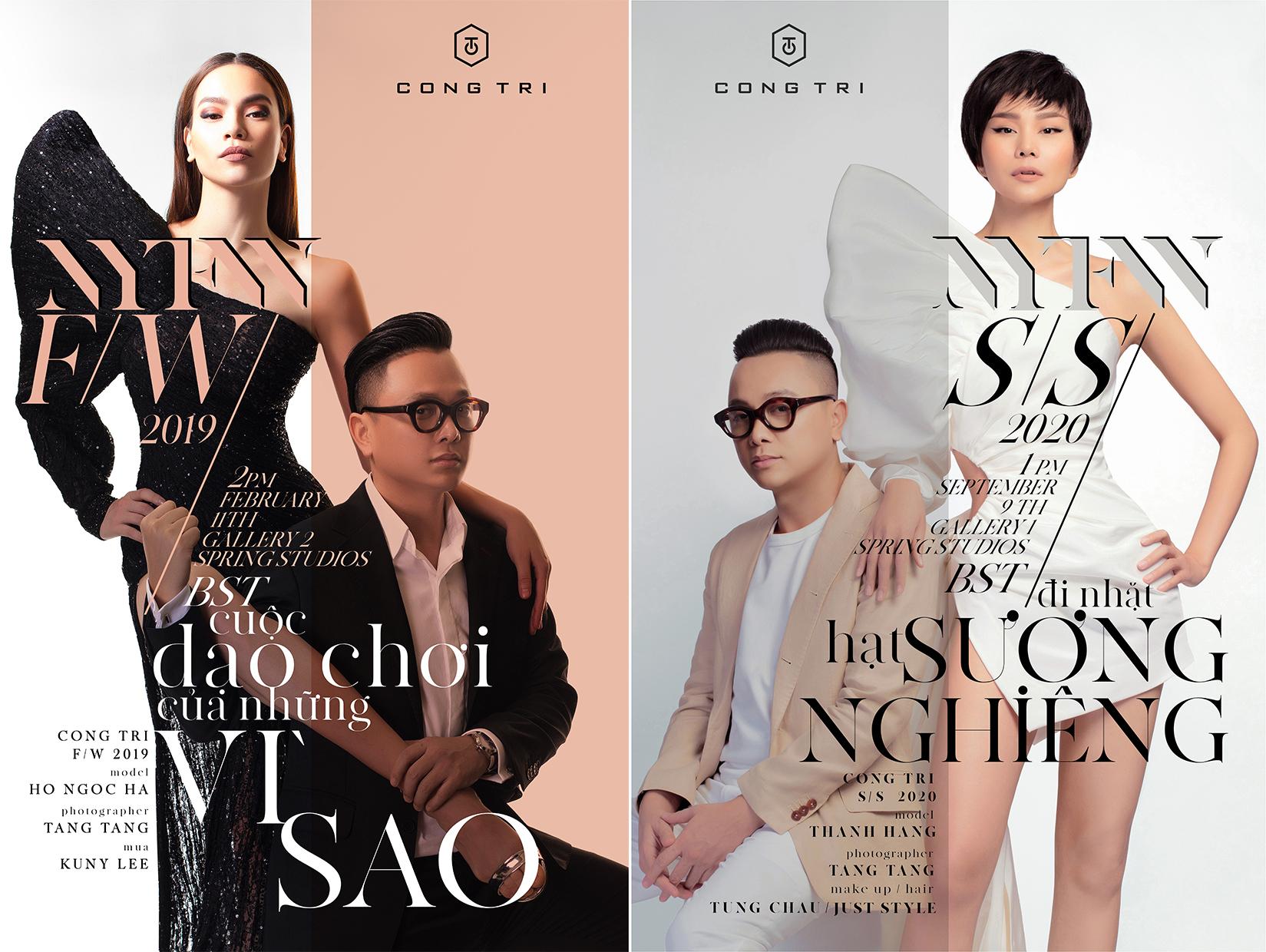 poster bst thu đông 2019 và xuân hè 2020 của ntk công trí