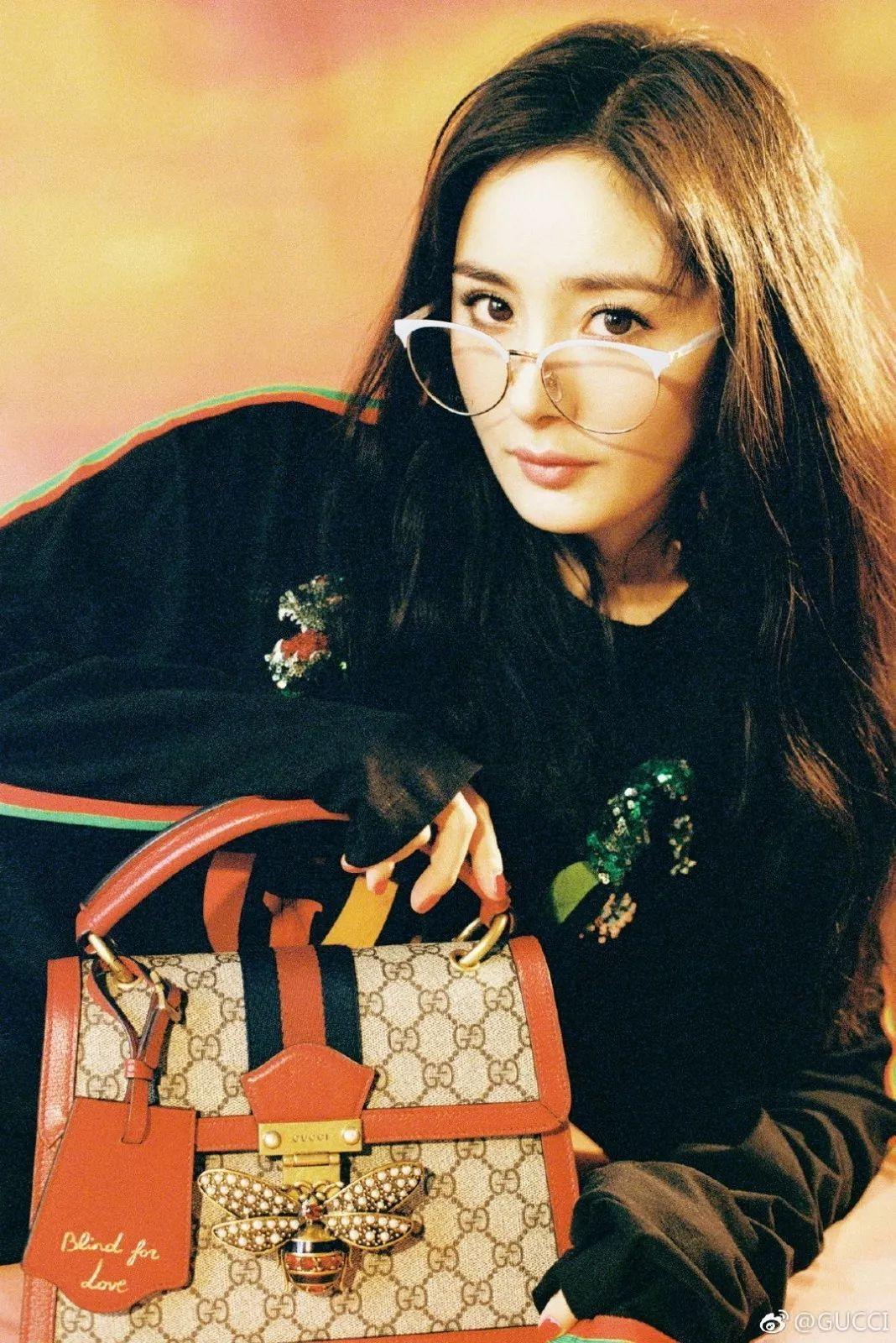 Dương Mịch xuất hiện trong chiến dịch quảng cáo của Gucci