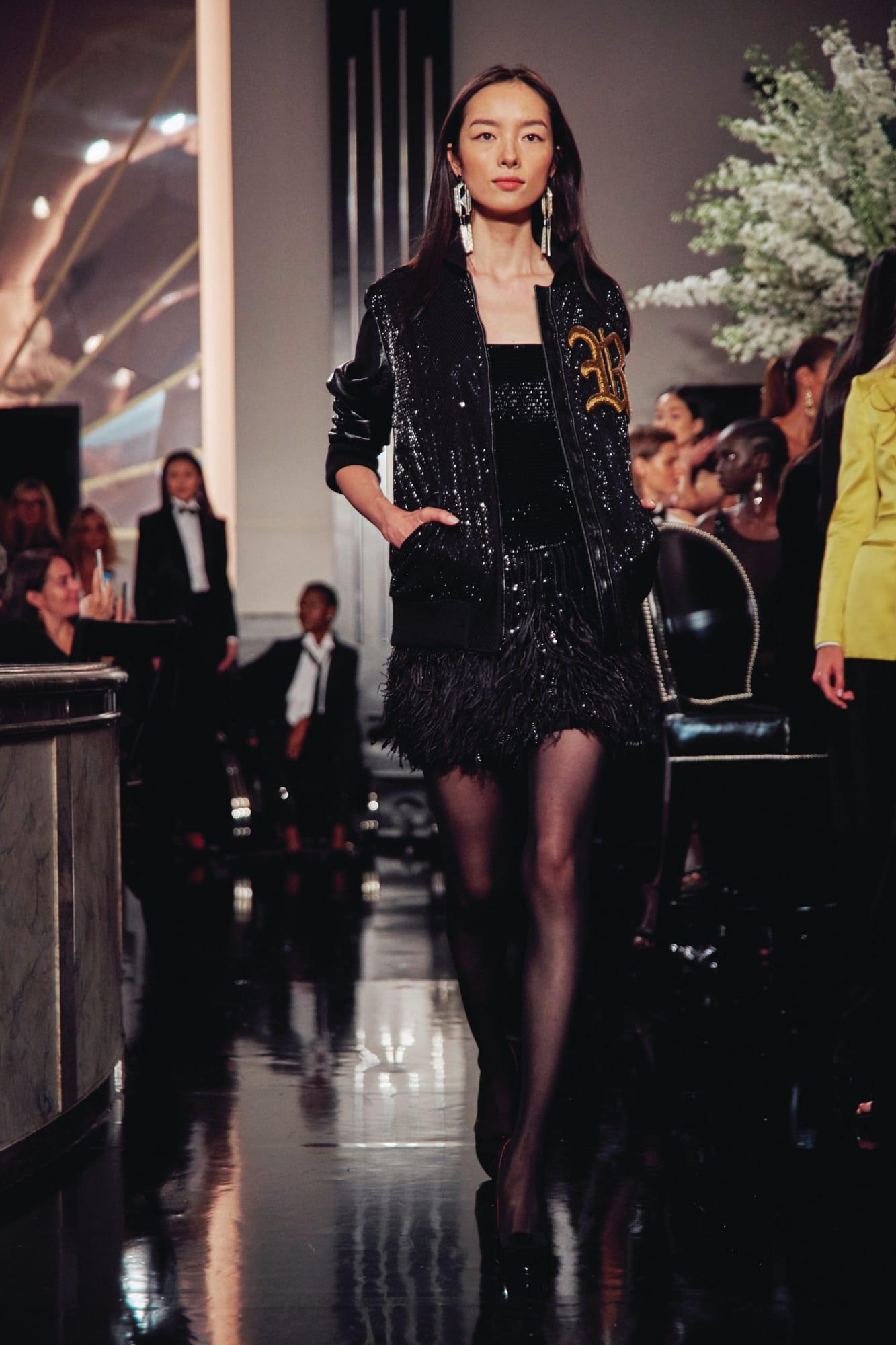 áo khoác và đầm dự tiệc ralph lauren thu đông 2019