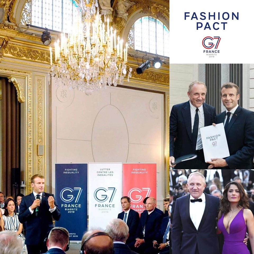 Điểm tin thời trang G7 ký kết hiệp ước thời trang