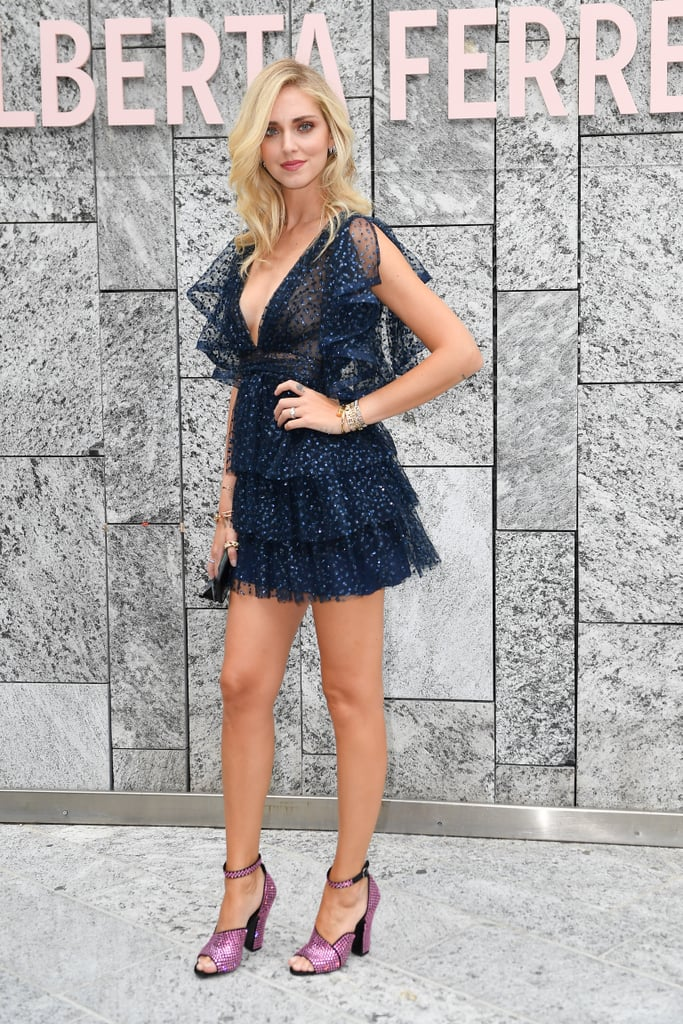 Chiara Ferragni tai Tuần lễ thời trang Milan xuân - hè 2020