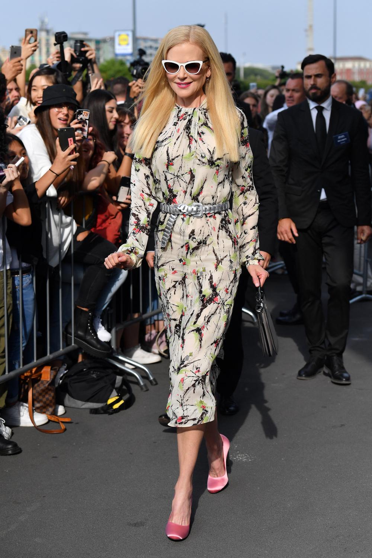Nicole Kidman xuất hiện tại show diễn Prada - Tuần lễ thời trang Milan Xuân - Hè 2020