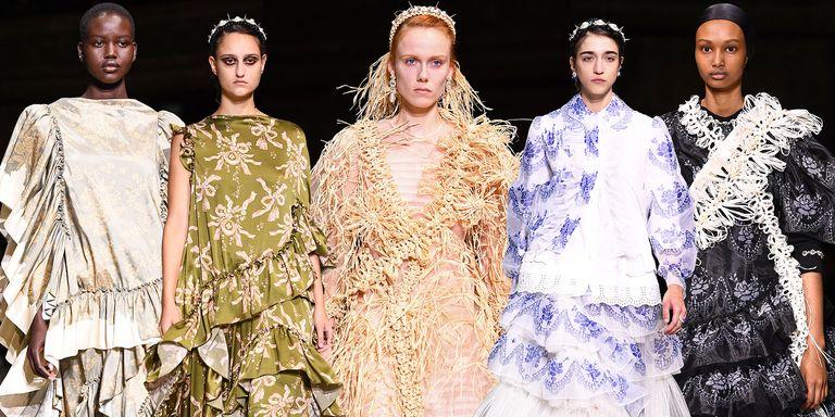 Những thiết kế trong BST Xuân - Hè 2020 của thương hiệu Simone Rocha tại Tuần lễ thời trang London Xuân - Hè 2020