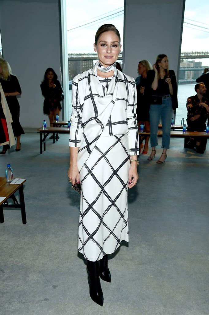 Olivia Palermo tham dự show thời trang Jason Wu tại tuần lễ thời trang New York Xuân - Hè 2020