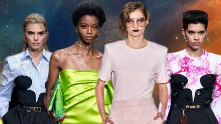 Phong cách trang điểm thập niên 90 trở lại sàn diễn Milan Fashion Week 2019