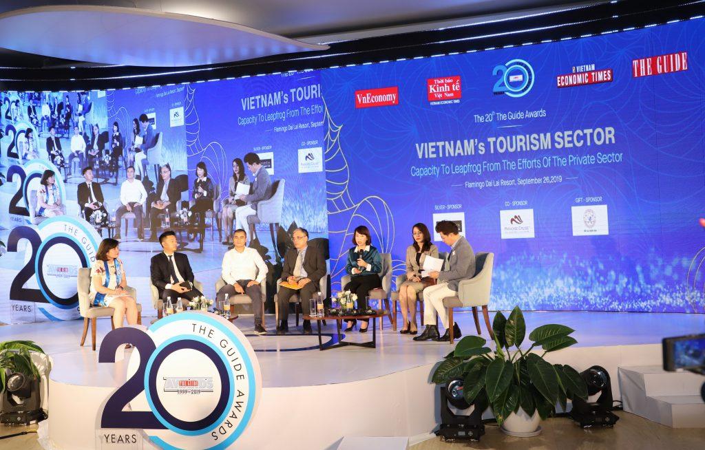 Tọa đàm về lĩnh vực du lịch tại sự kiện đã nhận được sự quan tâm của đông đảo quan khách