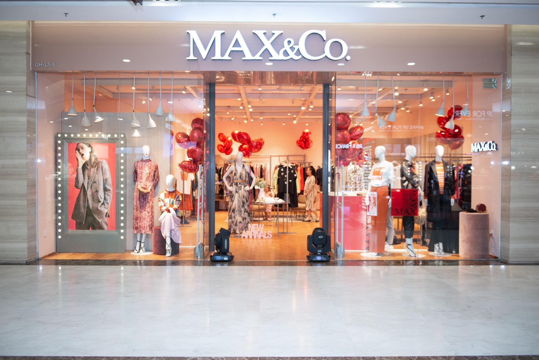 thương hiệu thời trang Ý MAX&Co.