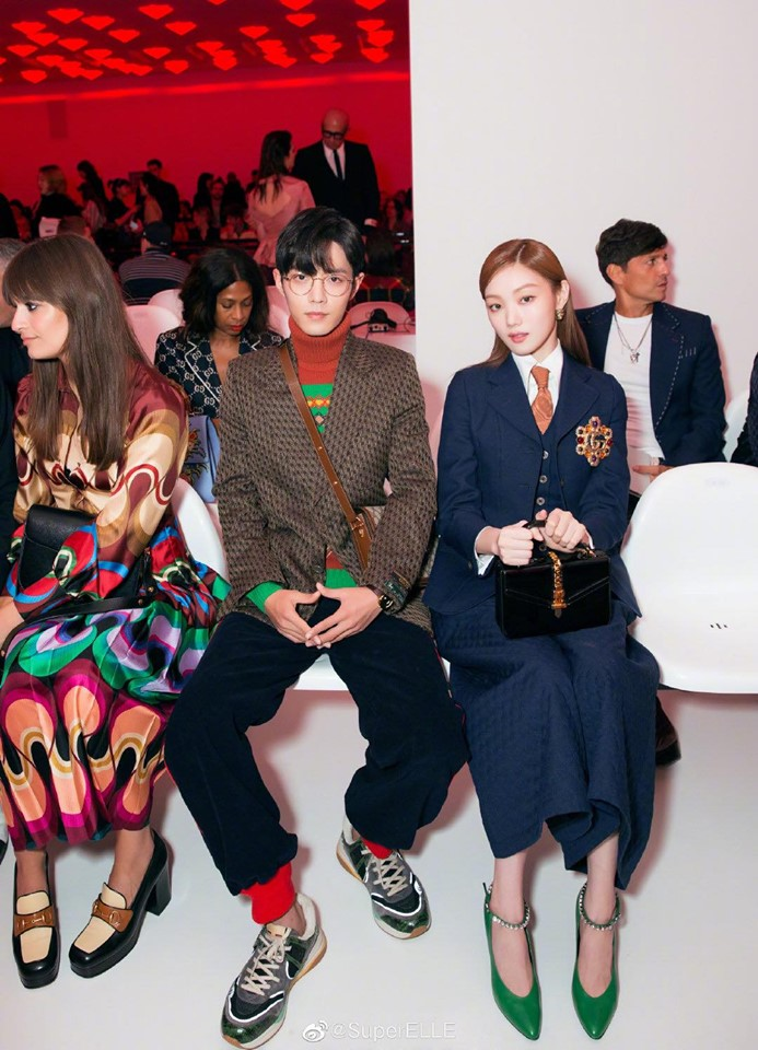 Lee Sung Kyung tại show diễn Gucci tuần lễ thời trang Milan Xuân - Hè 2020