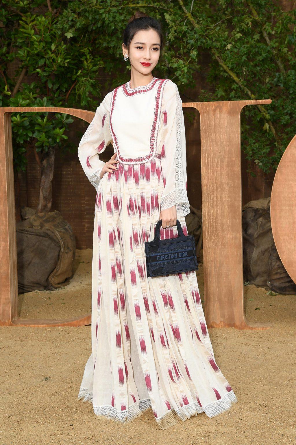 Angela Baby tham dự show Dior tại Tuần lễ thời trang Paris Xuân - Hè 2020